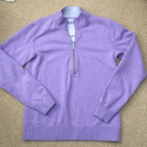 Reversible Quarter Zip Pullover